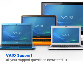 Get downloads and documentation from VAIO Support