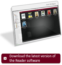 Download the latest software for your Reader