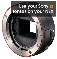 NEX3 and NEX5 lens adaptator