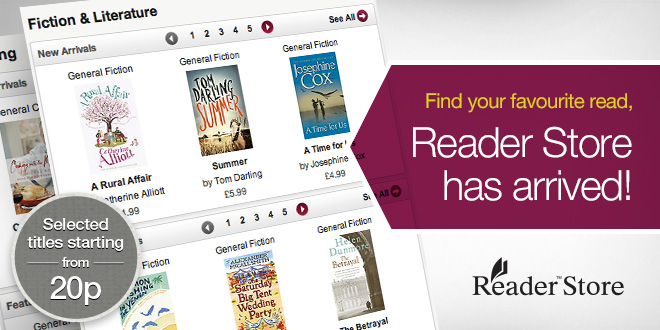 visit Reader Store for great eBook titles