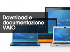 Download e documentazione VAIO